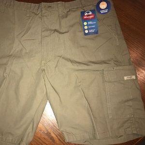 Khaki Hiker Carpenter Utility Shorts Classic Flex